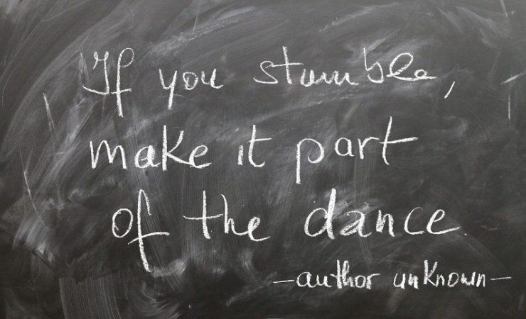 stumble dance