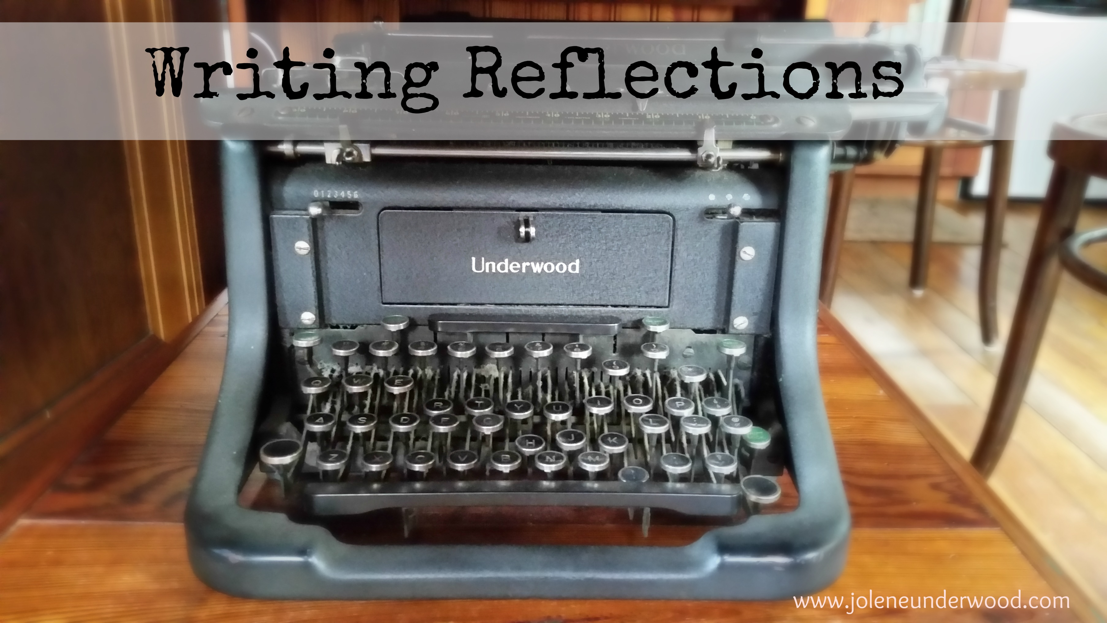 Writing Reflections: Untangling the knots