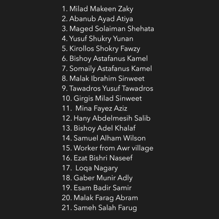 21 Martyrs