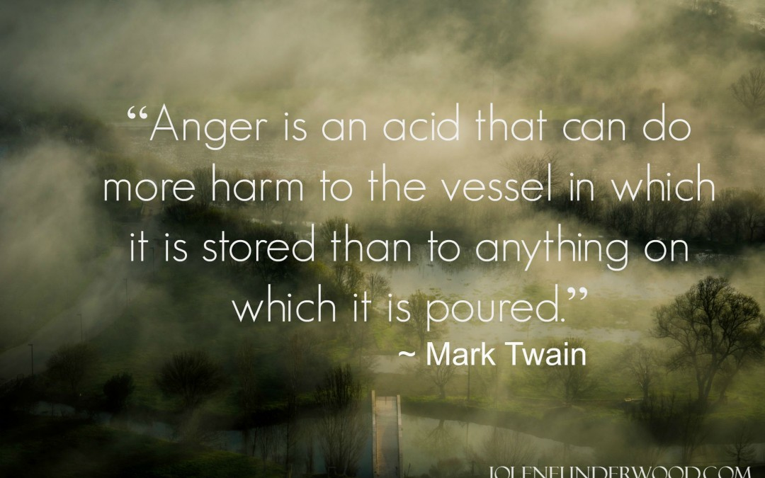 Where Anger Stirs