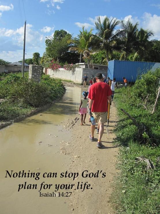 Micheal in haiti