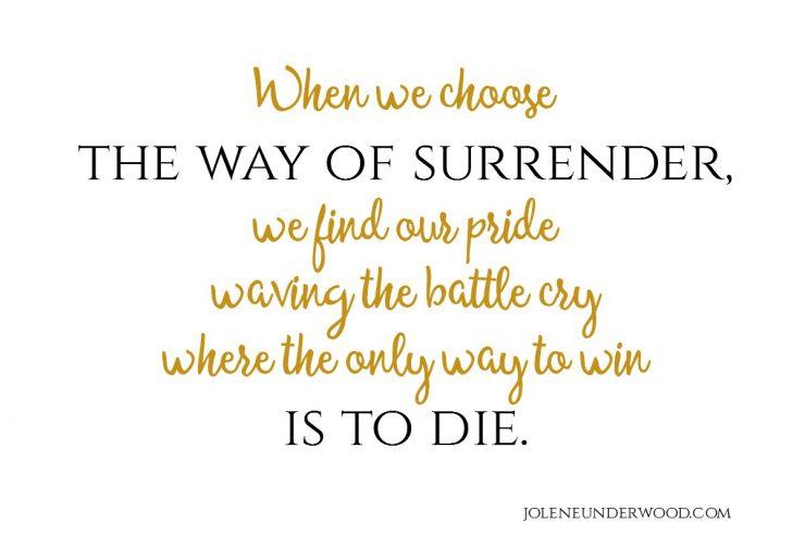 Way of Surrender