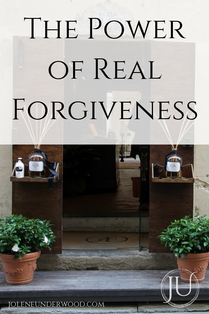 the power of real forgiveness