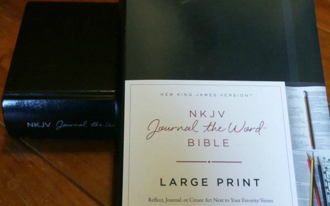 Do you Journal the Word? {Bible Review and Giveaway}