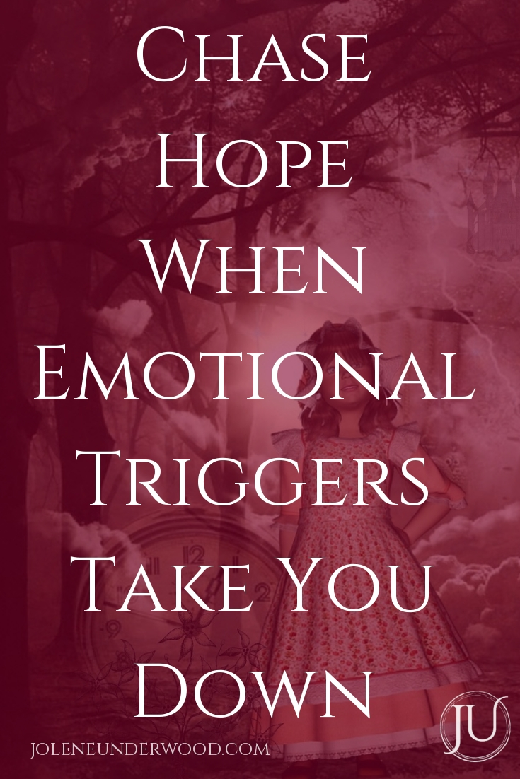 When emotions overwhelm and triggers hit, it's easy to lose sight of the Hope set before us. Chase hope when emotional triggers take you down. #emotionalhealth #emotionaltriggers #soulcare #spiritualgrowth #emotions #emotionalhealing