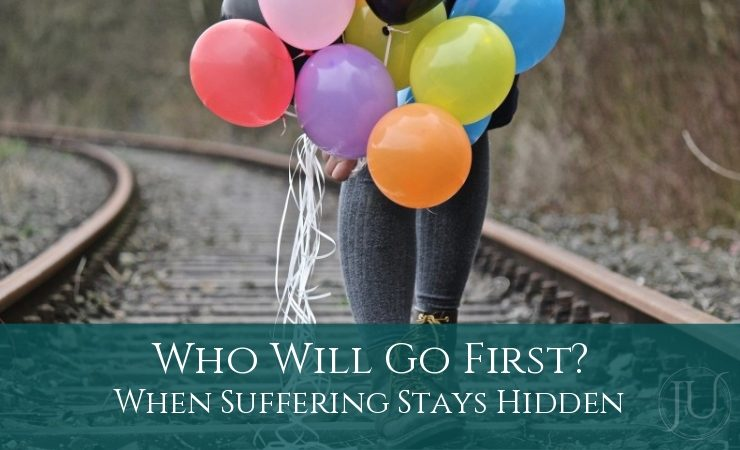Who Will Go First When Suffering Stays Hidden