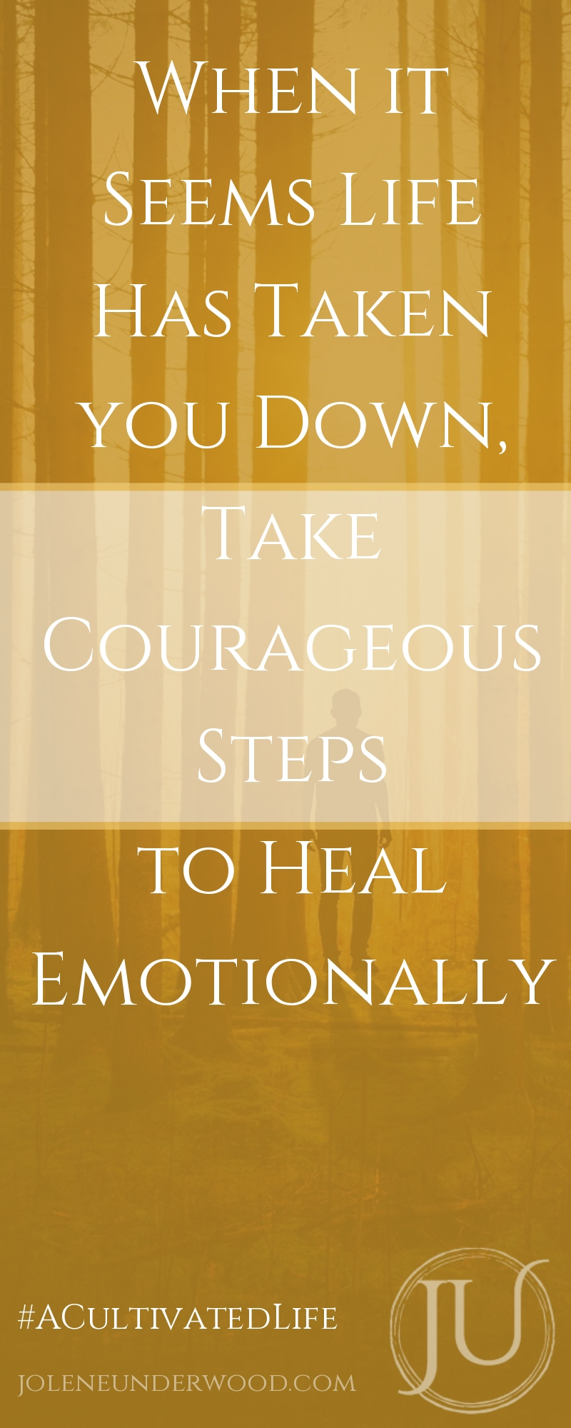 Take Courageous Steps Heal Emotionally