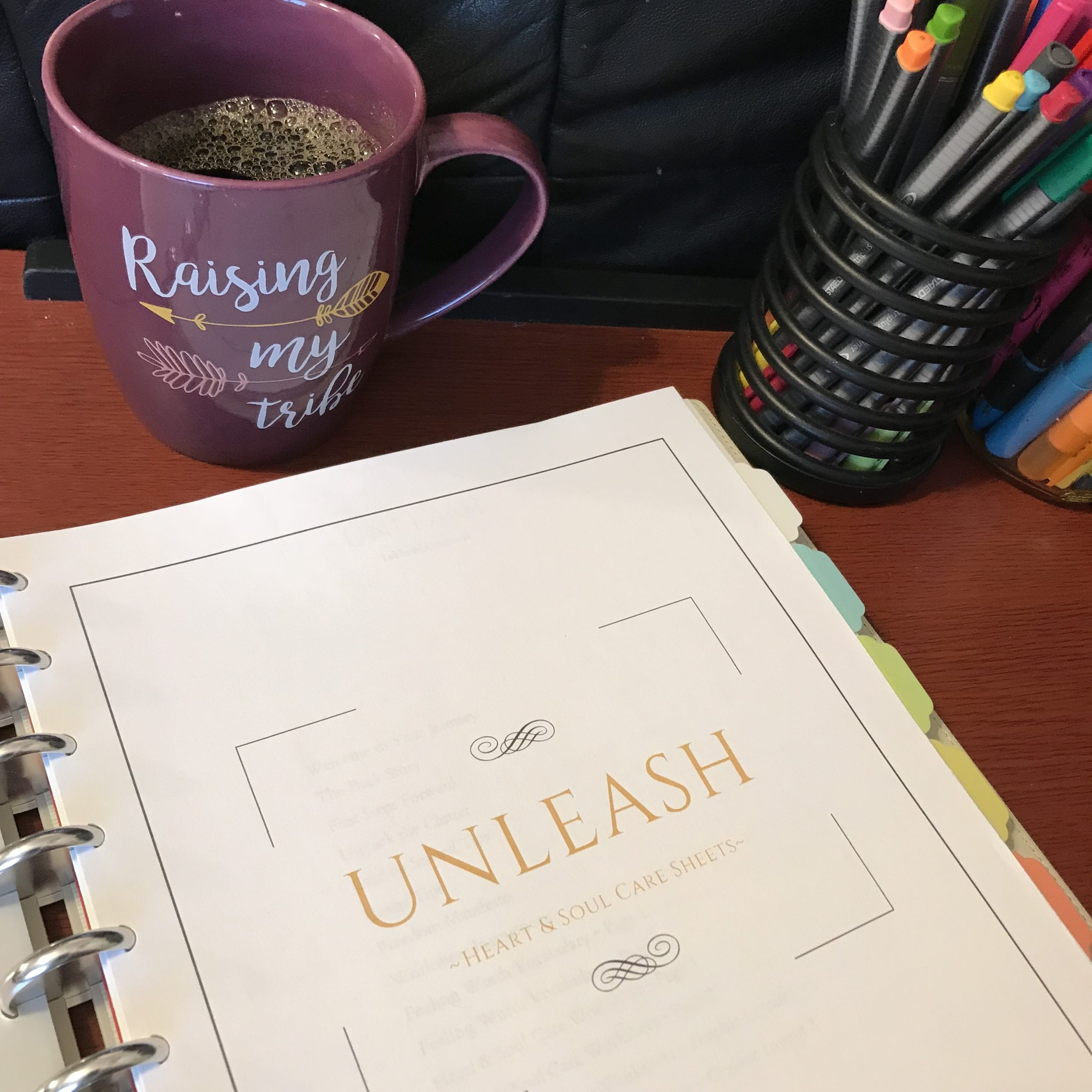 Unleash Sheets Cover with Coffee